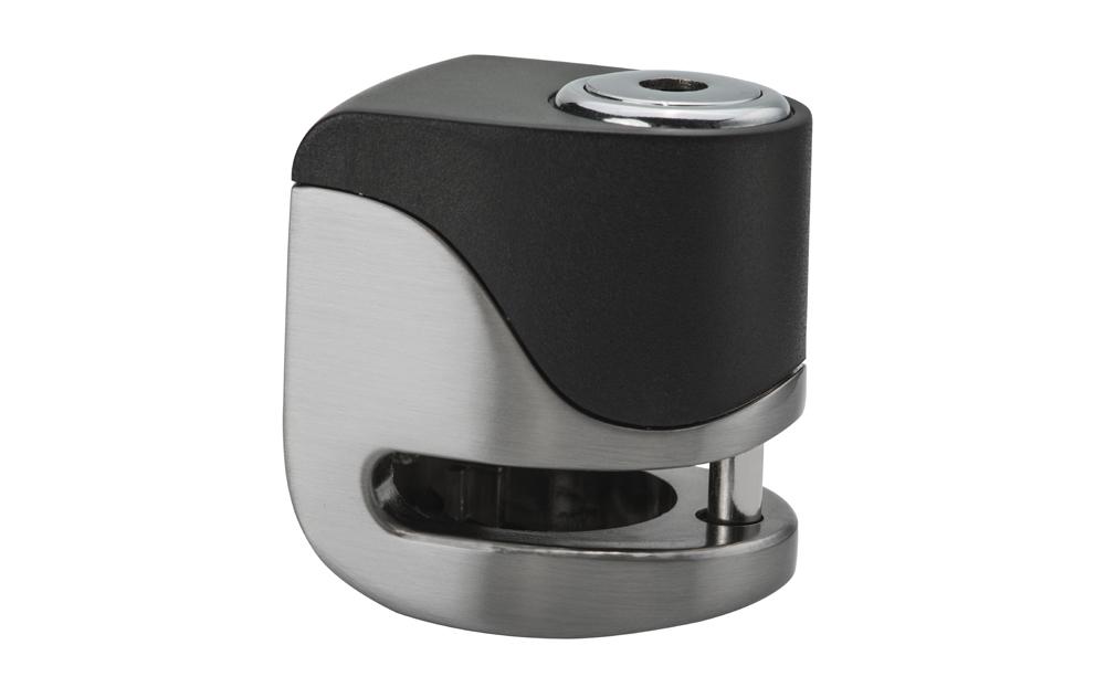 KOVIX KS6-BM Antirrobo de disco con alarma acero inoxidable 5,5 mm. USB