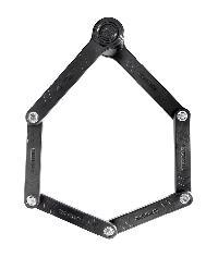 ANTIFURTO PIEGHEVOLE KRYPTONITE - KEEPER 585 FOLDING LOCK 3mm x 85cm