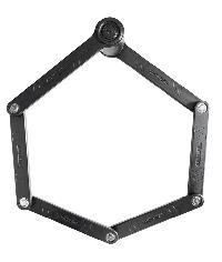 ANTIFURTO PIEGHEVOLE KRYPTONITE - KEEPER 510 FOLDING LOCK 3mm x 100cm
