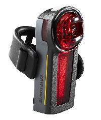 REAR LIGHT RECHARGABLE FOR BICYCLES KRYPTONITE - INCITE XR (0,6 LUX)
